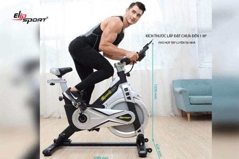 mẫu xe đạp tập gym Mofit SP500